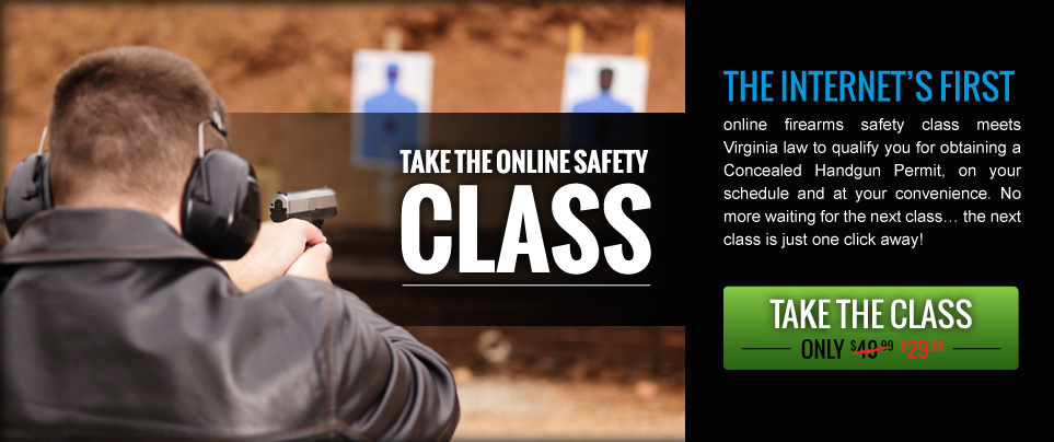 The internet's first online firearm safety class.
