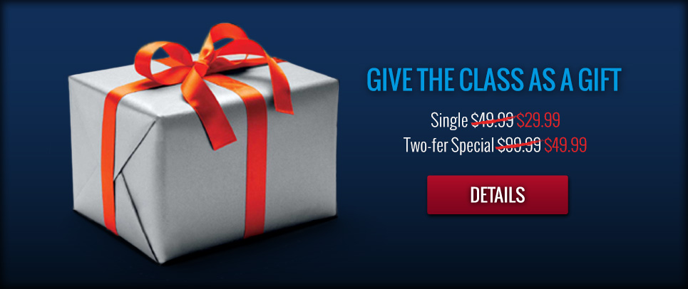 Give our class as a gift!